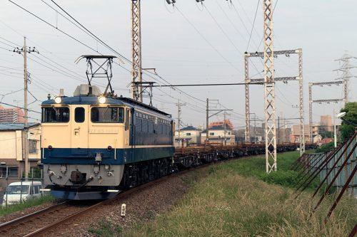 EF65-1103 新小岩(信)~金町間