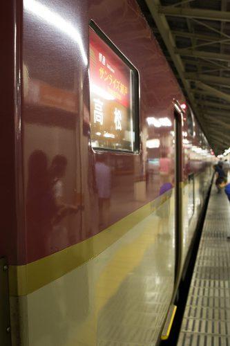 2016.6.24 21:40撮影 3733M 東京駅
