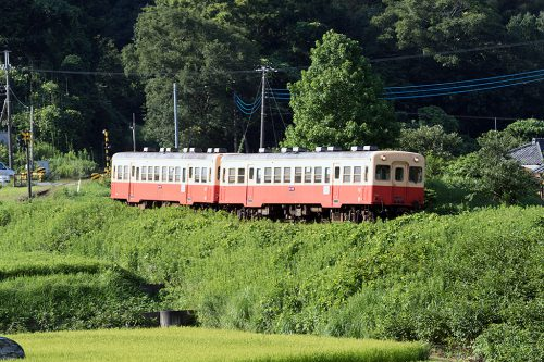 小湊鉄道 キハ200月崎~上総大久保間