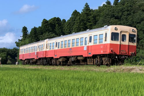 小湊鉄道 キハ200 27A 上総鶴舞~上総久保間