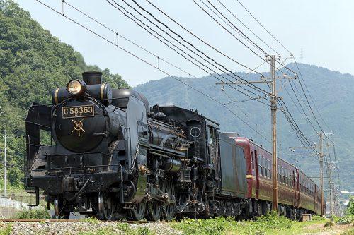 C58-363 5001レ 樋口~野上間