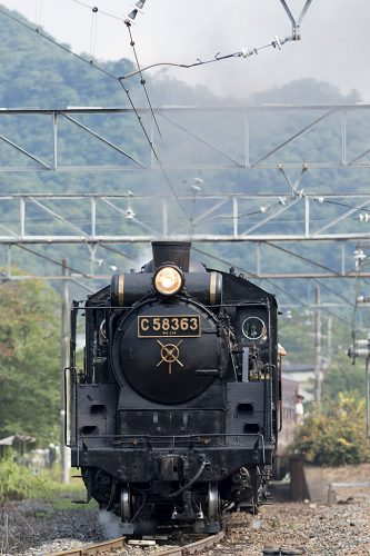 C58-363 5002レ 長瀞駅