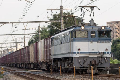EF65-2093 2083レ 熊谷~熊谷(タ)間