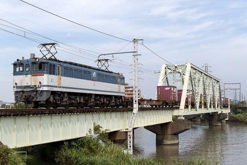 EF65-2138 1091レ 金町~新小岩(信)間