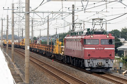 EF81-81ロンチキ 武蔵野線