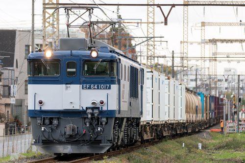 EF64-1017 1094レ 新小岩(信)~金町間