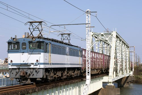 EF65-2095 金町~新小岩(信)間