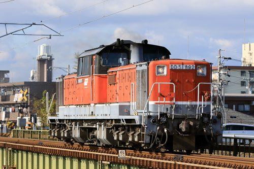 DD51-892 単機