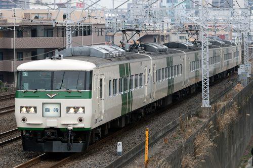 185系 成田山初詣横須賀号