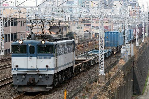 EF65-2101 コキ19両
