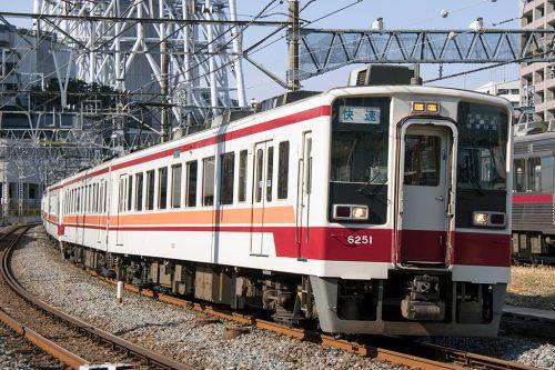 6050系快速とうきょうスカイツリー~曳舟間