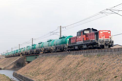 DD51-1028 8075レ 蟹江~永和間