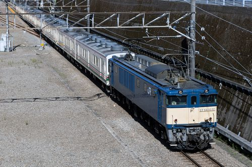 EF64-1032配9534レ 東所沢~新秋津間