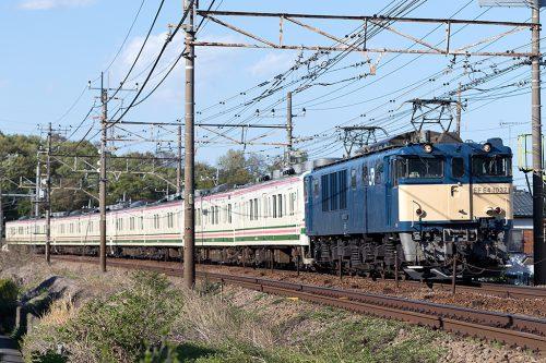 EF64-1032 日野~豊田間