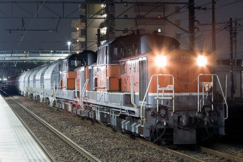 DD51-825 5283レ 蟹江駅