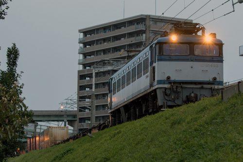EF81-453 福岡(タ)~千早(操)間