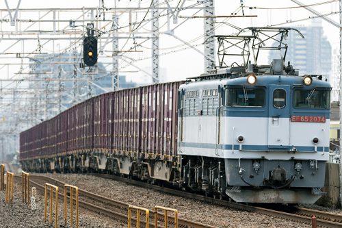 EF65-2074 1093レ 小岩駅