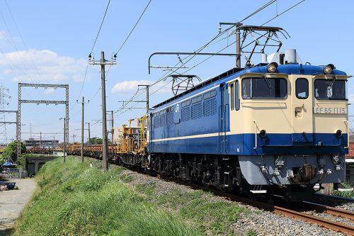 EF65-1115 金町~新小岩(信)