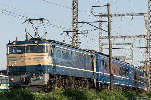 EF65-501 送り込み回送
