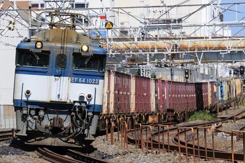 EF64-1022 1091レ 船橋~西船橋間