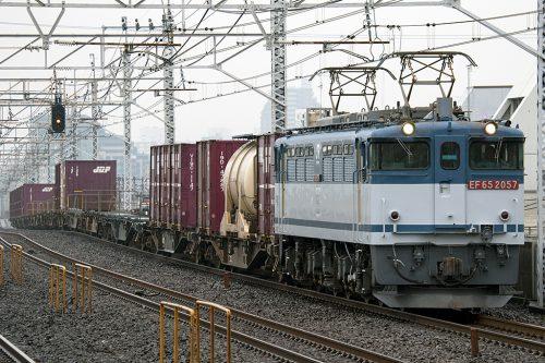 EF65-2057 1093レ 小岩駅