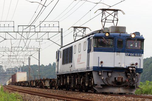 EF64-1033  1094レ 佐倉~物井間