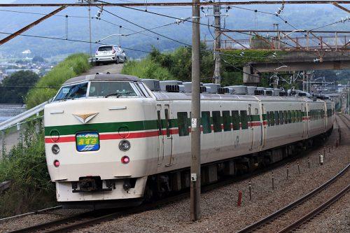 189系M52編成9071M 勝沼ぶどう郷~塩山間(後追い)