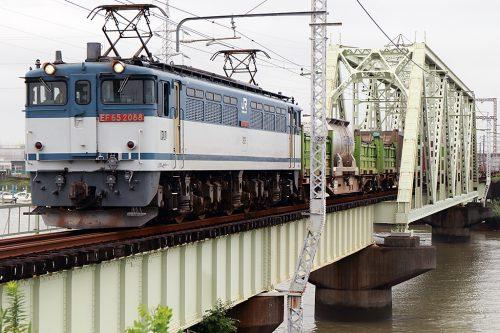 EF65-2088 1091レ 金町~新小岩(信)