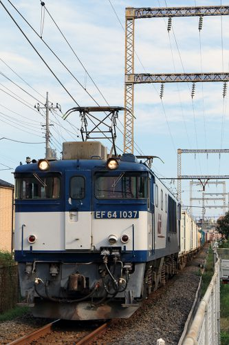 EF64-1037 1094レ 新小岩(信)~金町間