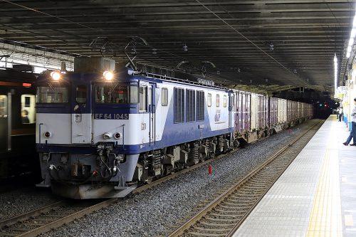 EF64-1045 79レ 東浦和駅