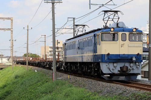 EF65-1103工9866レ 金町~新小岩(信)間