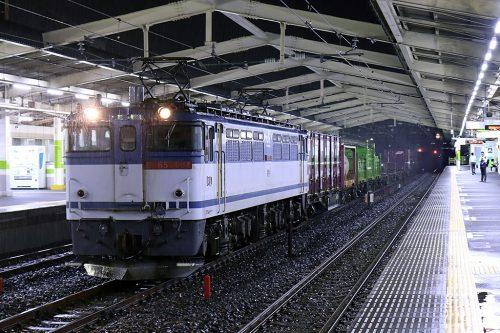 EF65-2084 1092レ 南流山駅