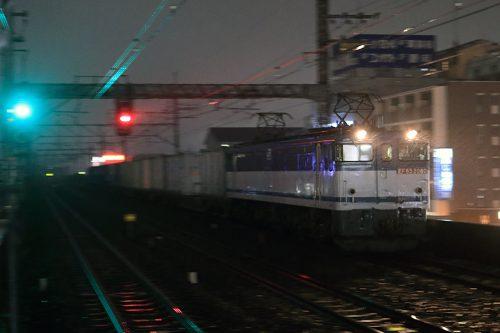 EF65-2080 5971レ 南流山駅