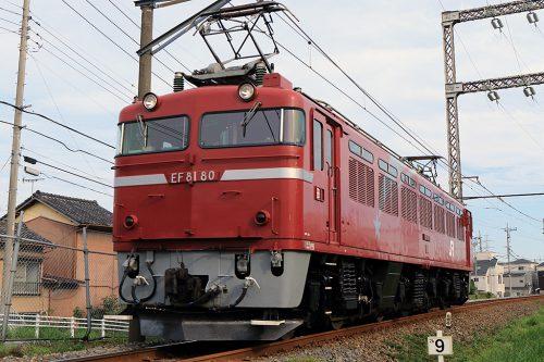EF81-80単6383レ 新小岩(信)~金町間
