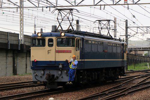 EF65-2139 入換 新小岩(信)間