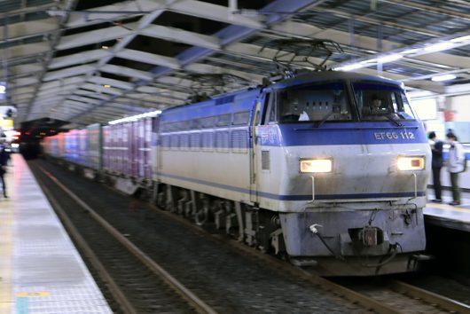 EF66-112 1067レ 南越谷駅