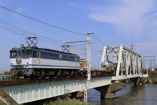EF65-2095 1091レ 金町~新小岩(信)間