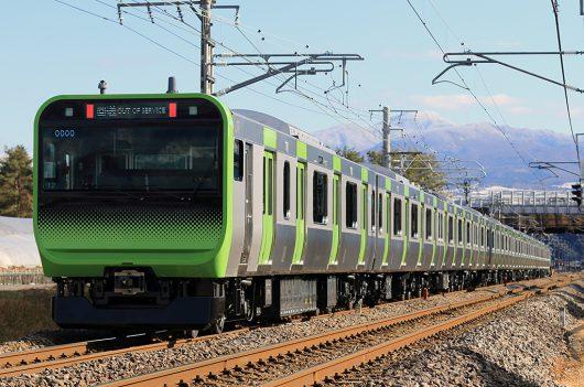 E235系配9772レ 後閑~沼田間(後追い)
