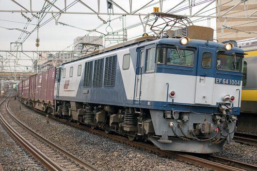 EF64-1004 1094レ 船橋~西船橋間