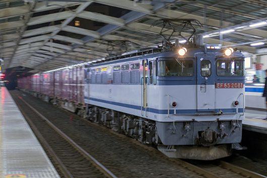 EF65-2081 76レ 南越谷駅