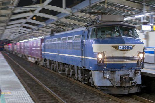 EF66-27 5061レ 南越谷駅