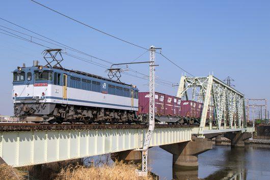 EF65-2063 1091レ 金町~新小岩(信)間