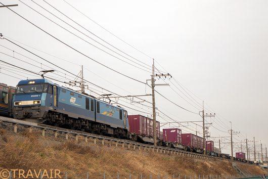 EH200-1 89レ 南越谷~東川口間