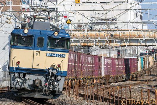 EF64-1028 1094レ 船橋~西船橋間