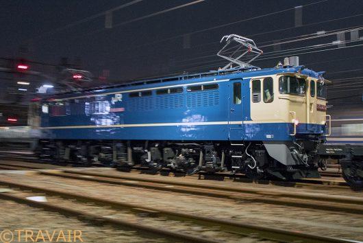 EF65-2067 入換 新小岩(信)