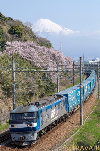EF210-143 2053レ 富士川~新蒲原間