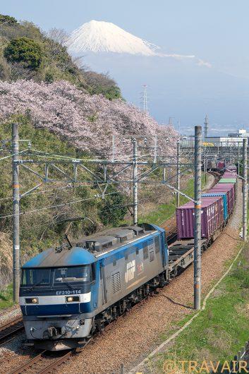 EF210-114 5073レ 富士川~新蒲原間