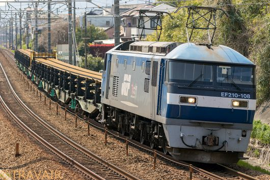 EF210-108 8090レ 新蒲原~富士川間