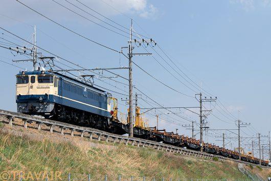 EF65-1102 工9863レ南越谷~東川口間