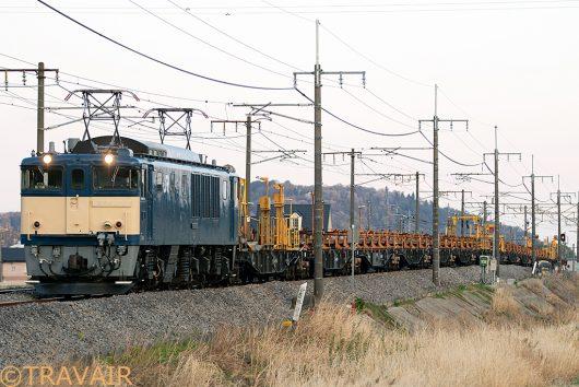 EF64-1053 工9775レ 八木原~渋川間